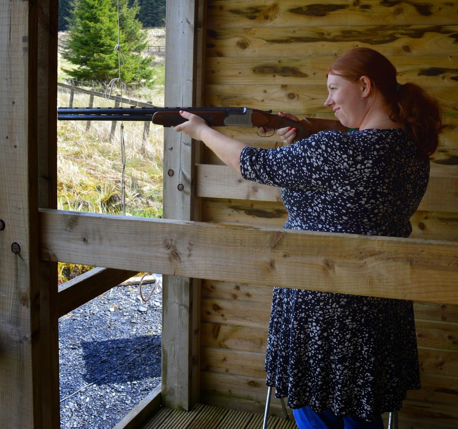Laser Clay Shooting at The Calvert Trust, Kielder - A review