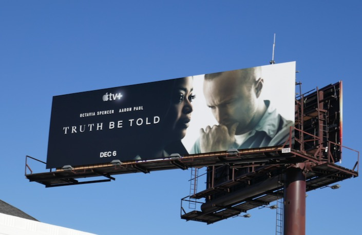 Truth Be Told series billboard