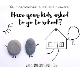 Home School FAQs. Socialisation and asking about school. Reader questions over at a Muslim Home School