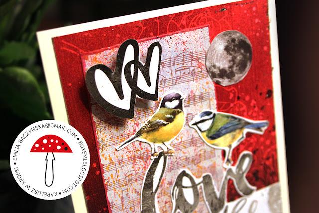 Kartka walentynkowa – valentines card
