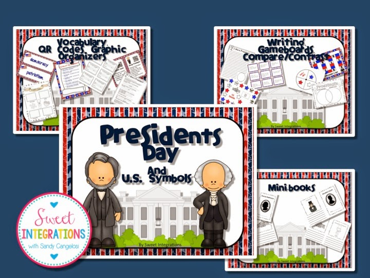 In this post, I've provided 3 different activities your students can do for President's Day. This includes a FREEBIE