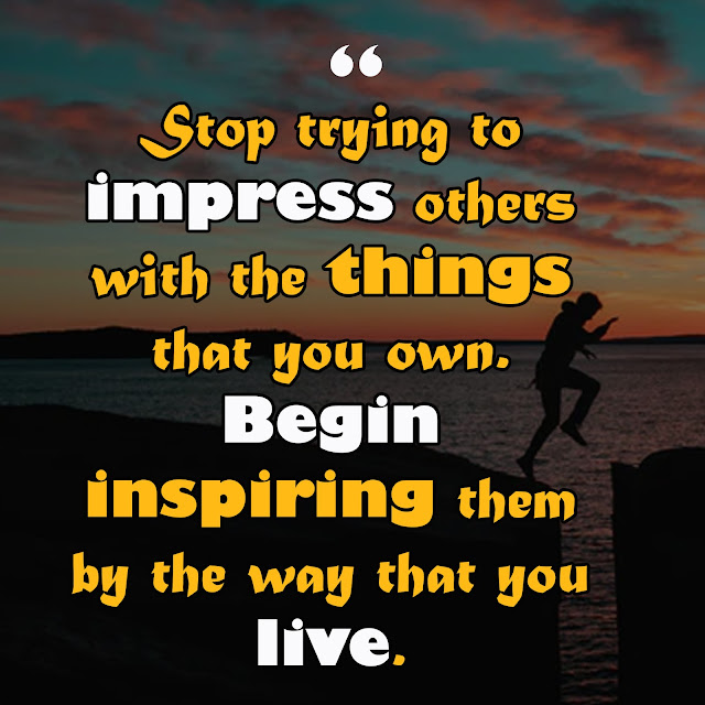Being an inspiration to others quotes
