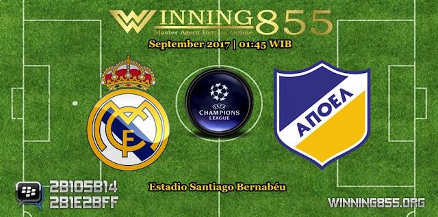 Prediksi Skor Real Madrid vs Apoel