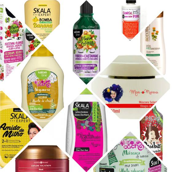 produtos cabelo veganos low poo