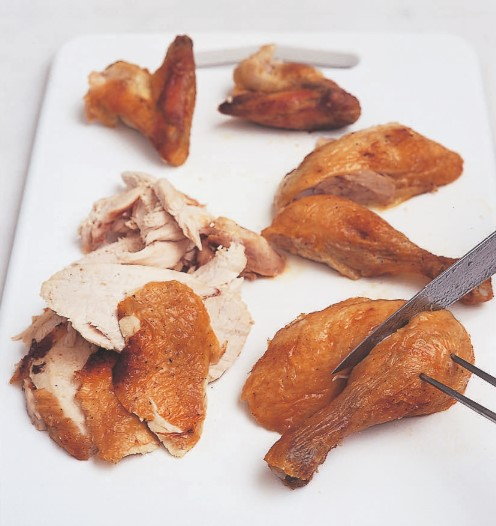How to carve chicken