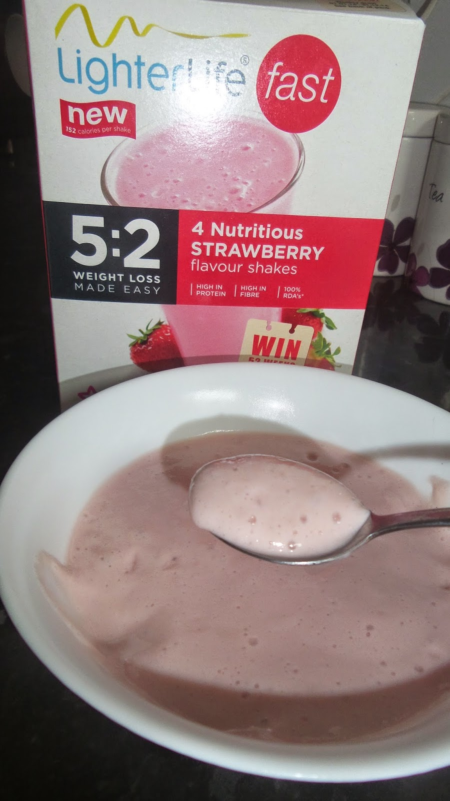 carsonsmummy review, LighterLifeFAST, meal idea, lighterlife, strawberry shake