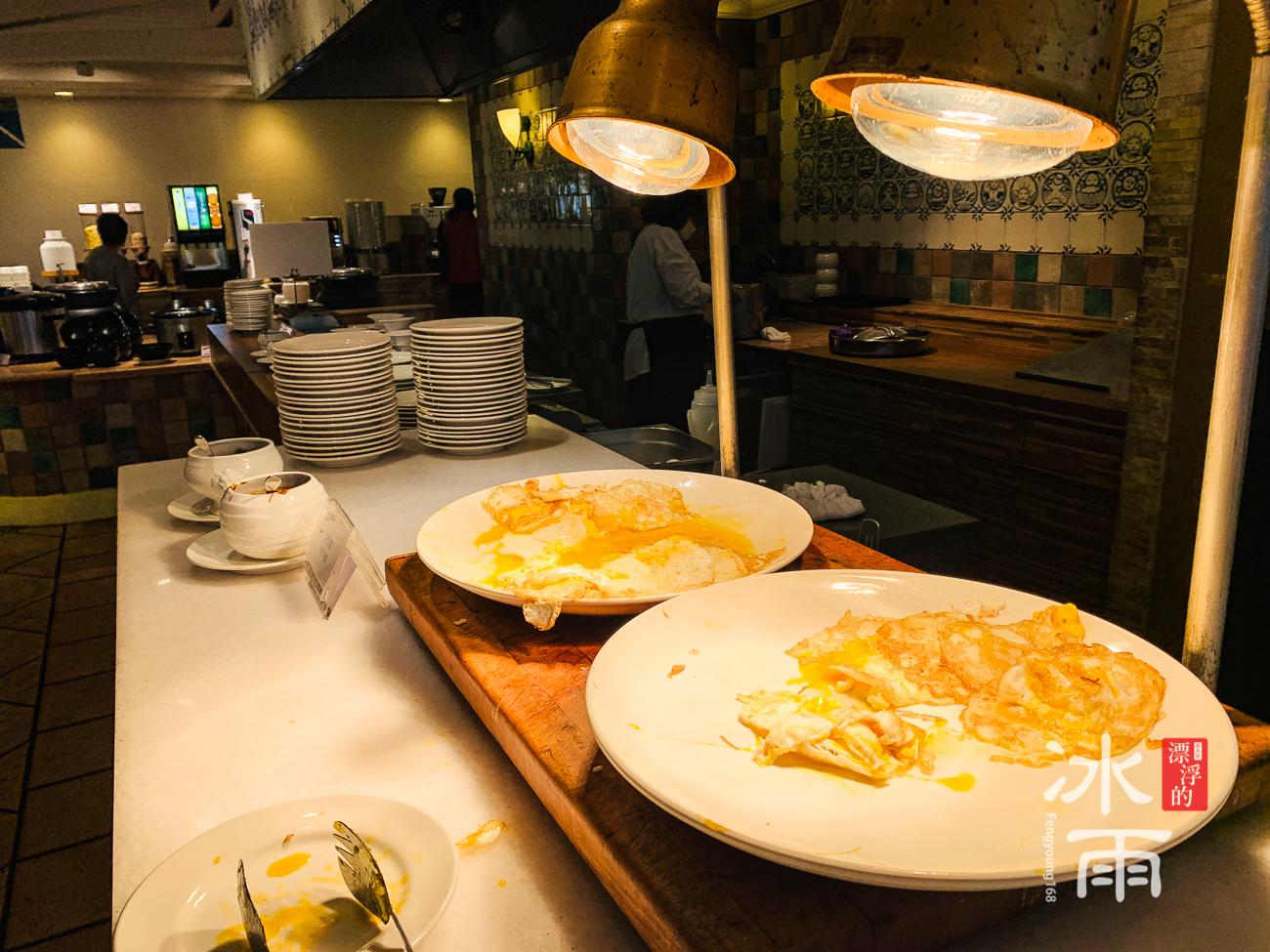 陽明山天籟溫泉會館|早餐餐檯