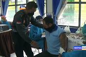 Vaksinasi Covid-19 Di Lapas Tuban, Sejumlah Napi Takut Jarum Suntik