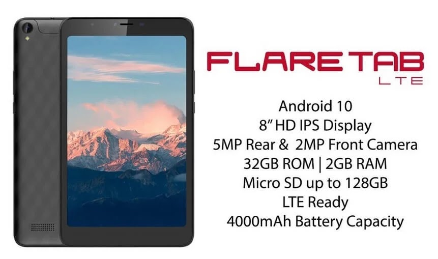 Cherry Mobile Flare Tab LTE, 8-inch Octa-Core Tablet with LTE and 4,000mAh Battery for Only Php4,999