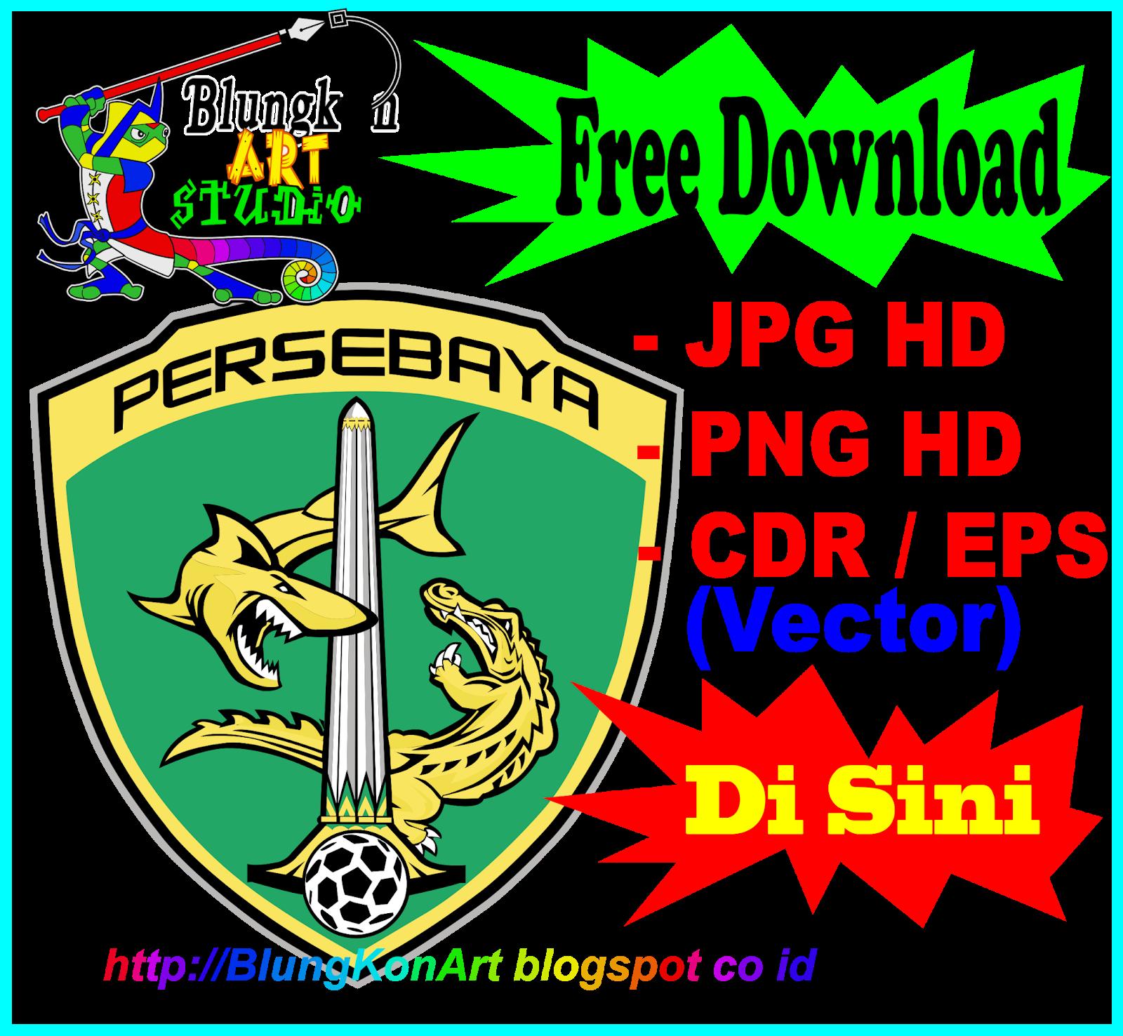Logo Persebaya Surabaya Vector Coreldraw Cdr Eps Jpg Png Transparan