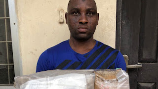 NDLEA intercepts packs of cocaine, heroin shipped to UK, Ireland and other countries