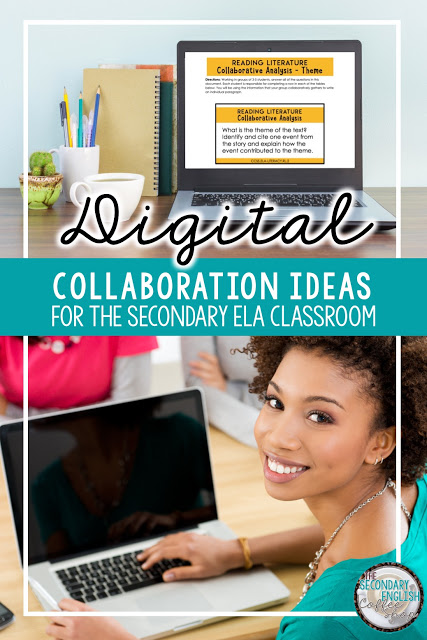 Digital Collaboration Ideas for Distance and Hybrid Learning in the Secondary ELA Classroom
