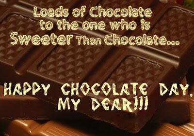 Amazing happy Chocolate Day Image