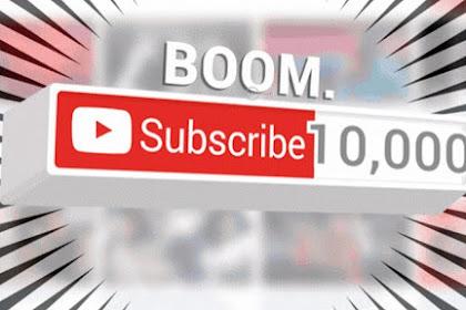Berapa Penghasilan dari Youtube Untuk 10.000 Subscriber