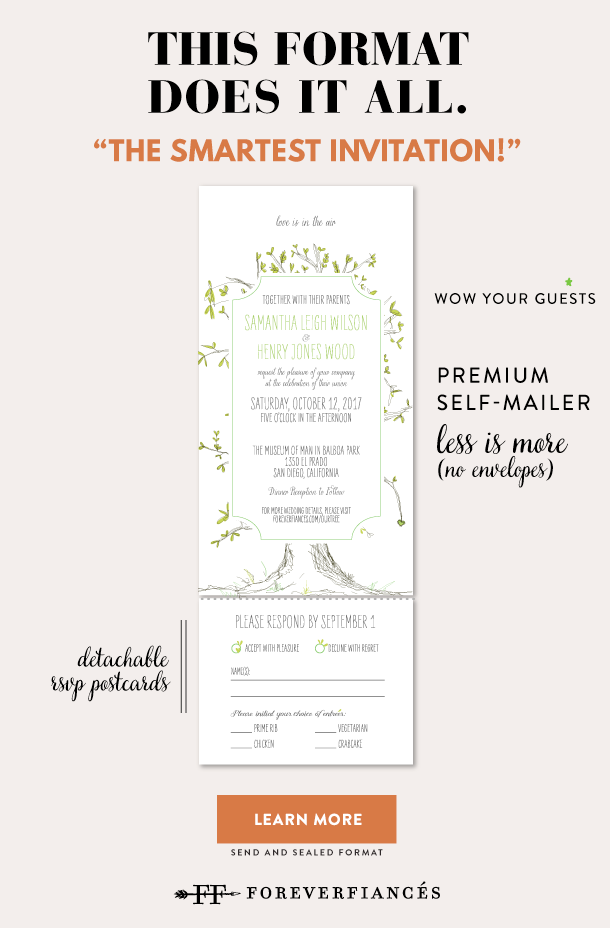all in on invitations for wedding concept