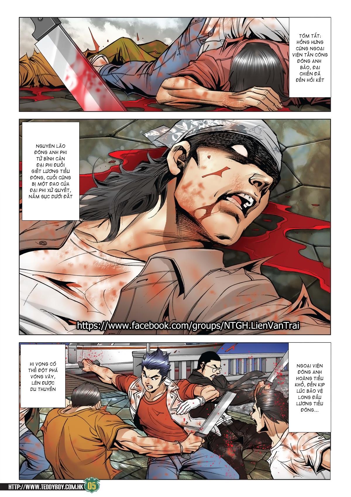 Người Trong Giang Hồ chapter 2033: kim tôn quý vs đại phi trang 3