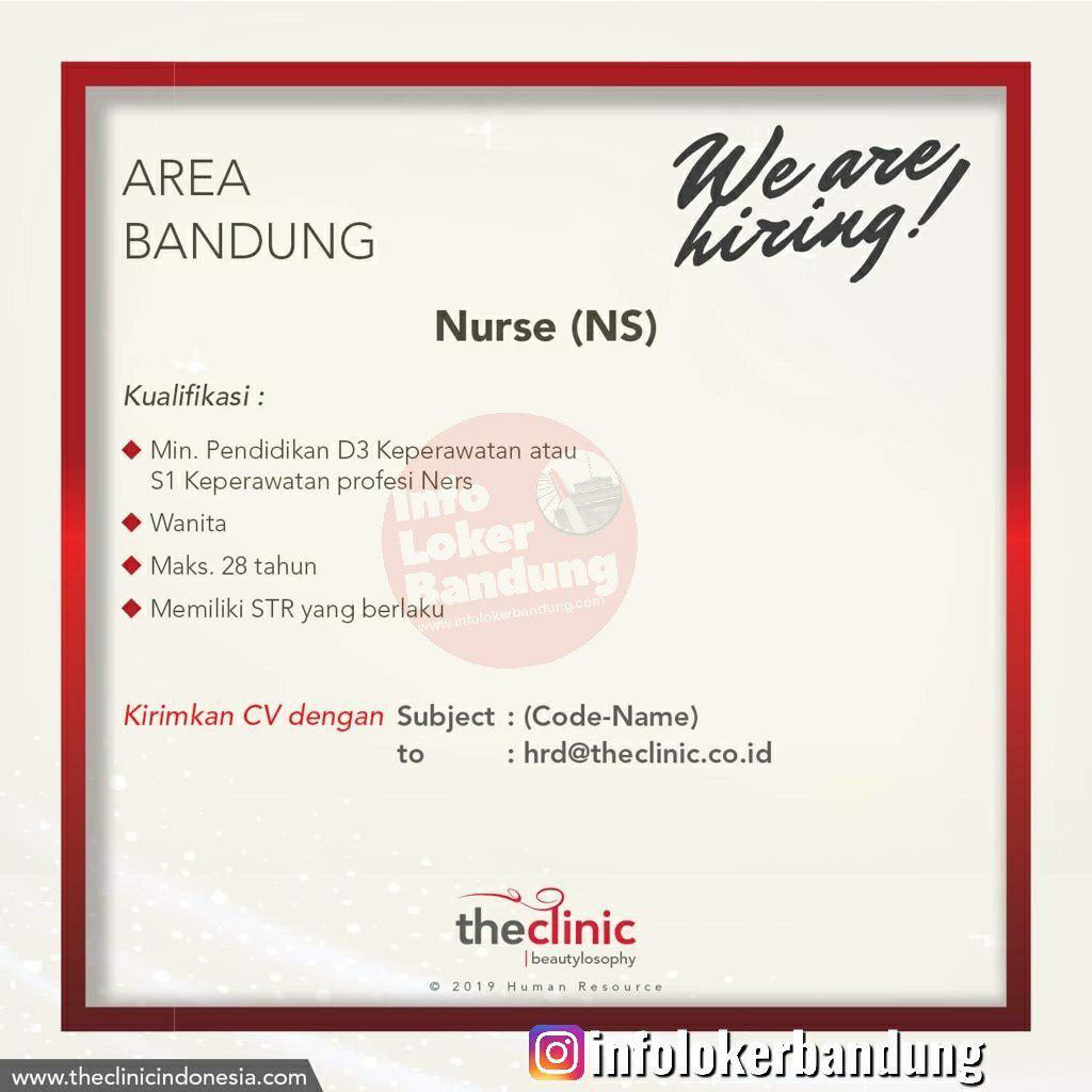 Lowongan Kerja Nurse The Clinic Bandung Juni 2019