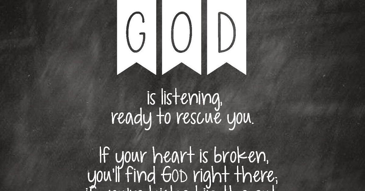 Sweet Blessings God Is Listening