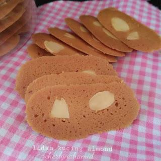 Ide Resep Kue Kering Lidah Kucing Almond