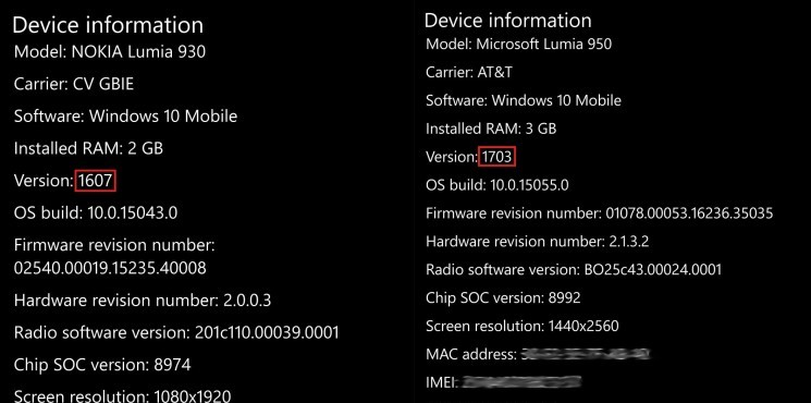 Versione-1703-Mobile-Windows-10 Creators-Update