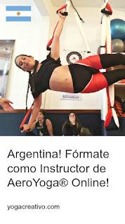 formación yoga aéreo a distancia