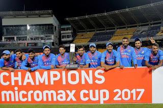 India tour of Sri Lanka Only T20I Match 2017
