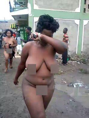 Women caught naked pics