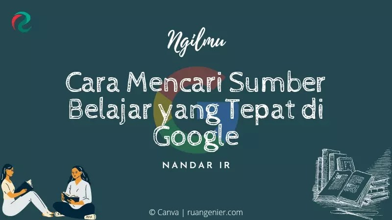 cara mencari sumber belajar di google