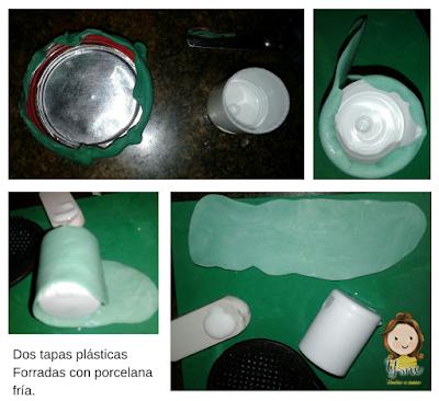 Portavela-reciclado-para-navidad-con-porcelana-fría