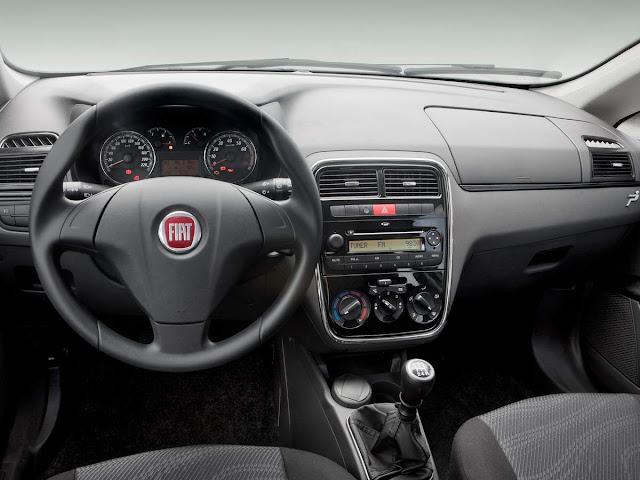 Fiat Punto 2009 a 2012 - interior