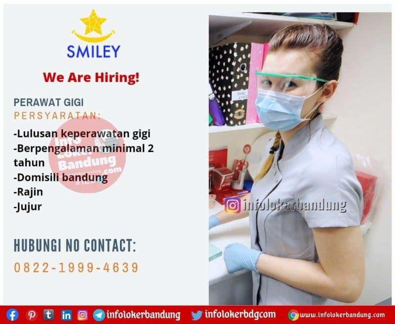 Lowongan Kerja Perawat Gigi Smiley Dental Care Bandung April 2021