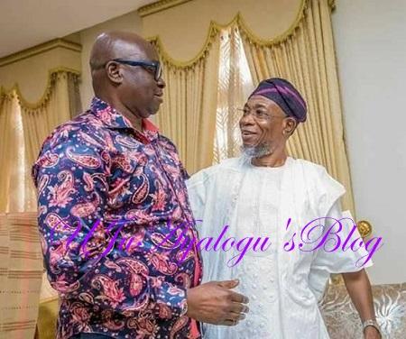 PHOTOS: When Yoruba Governors Met Yesterday In Ibadan
