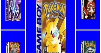Tem Na Web - 5 jogos de pokemon já traduzidos