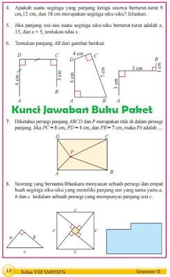 Kunci Jawaban Buku Paket Matematika Halaman 12 Kelas 8 Semester 2 Kurikulum 2013