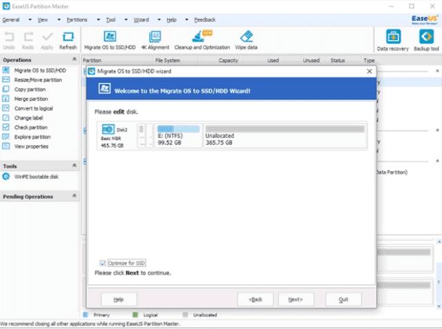 كيفية نقل Windows 10 إلى محرك أقراص جديد SSD