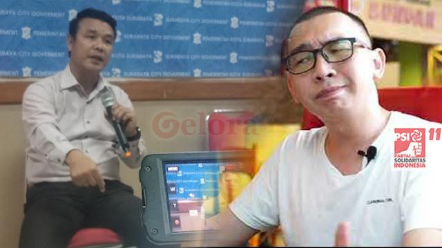 Politisi PSI Lempar Draf RAPBD, Kadis Kominfo: Kamu yang Ambil, Atau Saya yang Naik Meja!