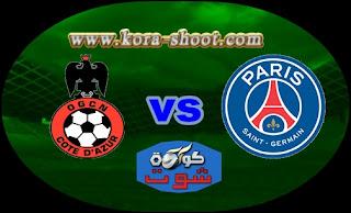 مشاهدة مباراة باريس سان جيرمان ونيس بث مباشر 04-05-2019 الدوري الفرنسي