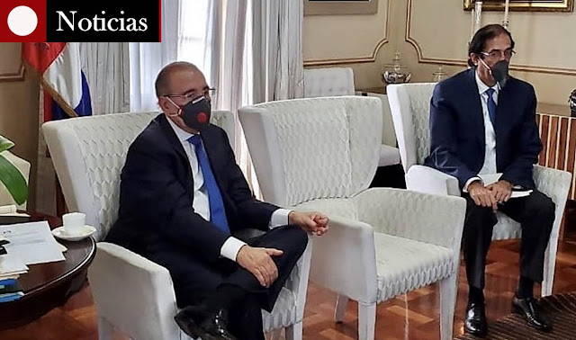 Danilo Medina, coronavirus