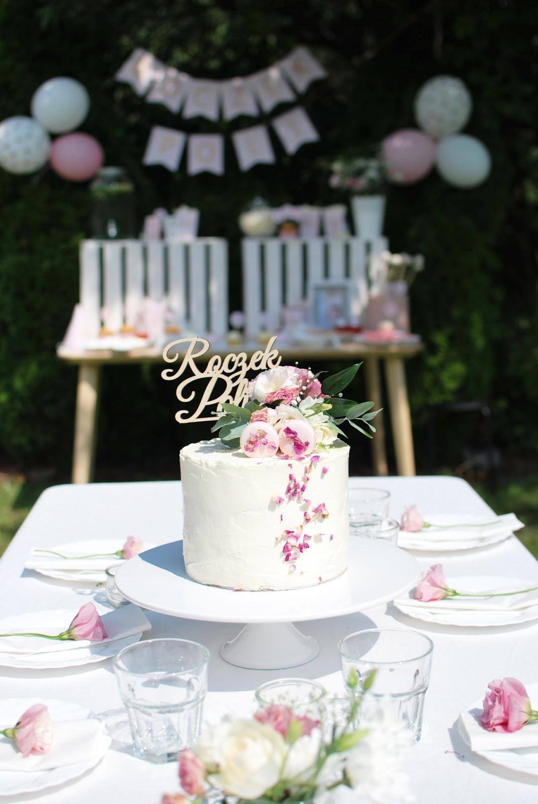 Pierwsze urodziny Poli - słodki stół z Baboom Color
