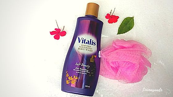 Vitalis Perfumed Moisturizing Body Wash Soft Beauty