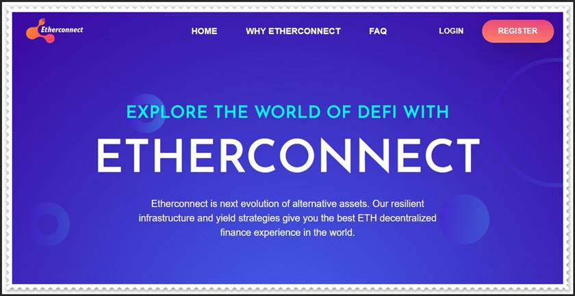 Мошеннический сайт etherconnect.co – Отзывы, развод, платит или лохотрон? Мошенники Etherconnect