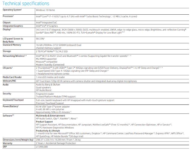 Spesifikasi-laptop-HP-Spectre-x360-14