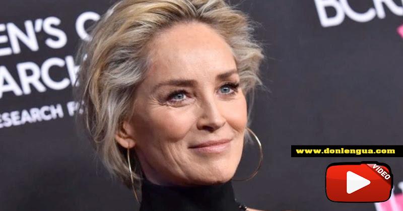 MALA SUERTE | Le cayó un rayo a la actriz Sharon Stone mientras planchaba
