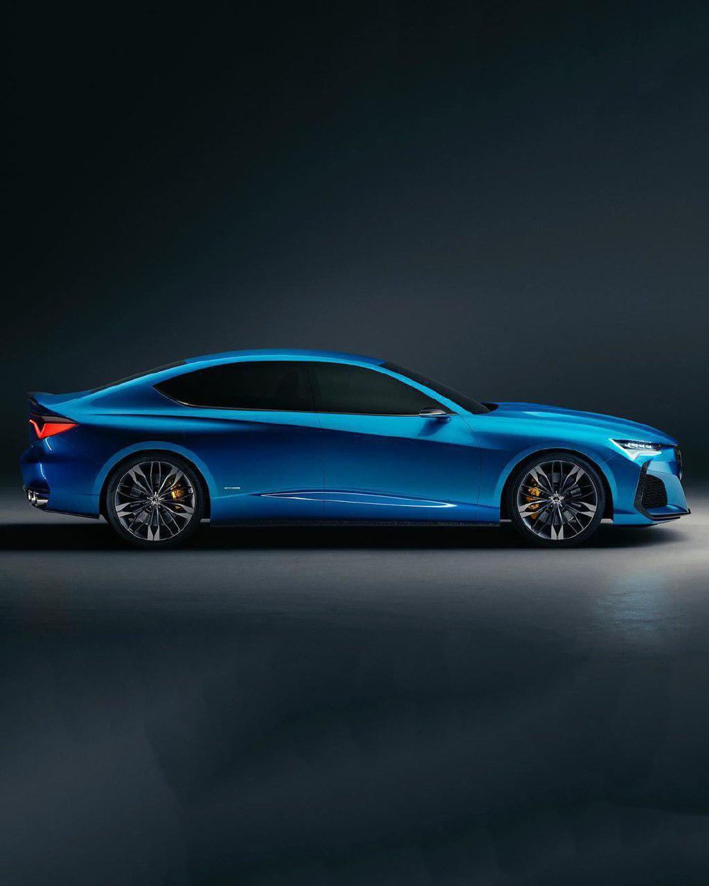 Acura Type-s, Successor To The Acura TLX Sedan, Unveiled