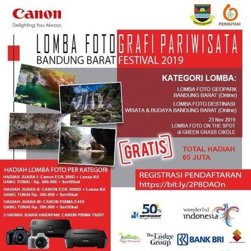 Lomba Foto Wisata Bandung Barat Festival Berhadiah Total 65 Juta