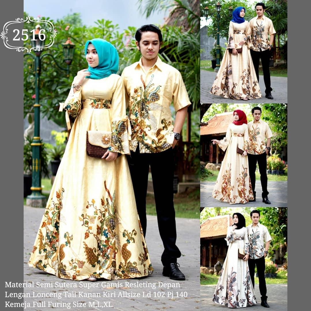 Model Batik Couple Modern Terbaru 2020 Desain Mewah ...