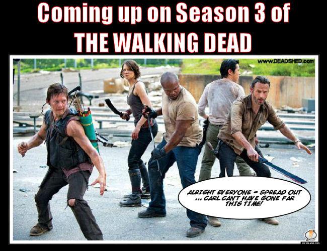 Best Memes Of The Walking Dead Season 3