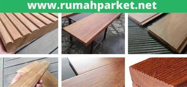 berbagai macam produk lantai kayu parket