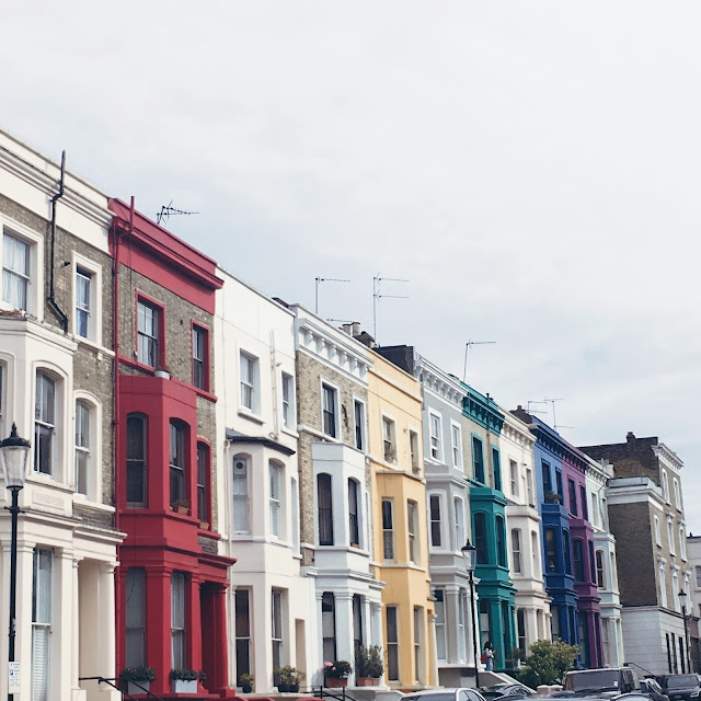 notting hill, grinsestern, travel, reiselust, wanderlust, colourful, london, portobello road, urlaub, city trip