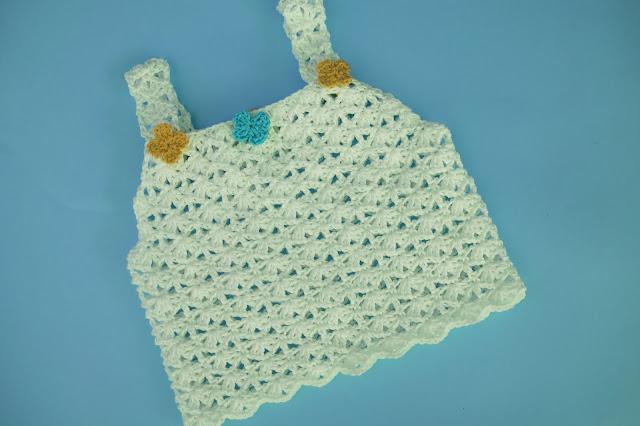 3 - Crochet Imagen Sencilla camiseta de tirantes para el verano a crochet por Majovel Crochet